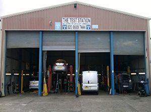 car repairs station